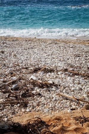 A view of Petani, a beach,Kefalonia,Greece photo