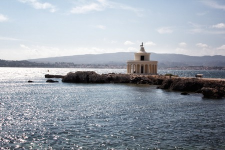 kefalinia: a view of Kefalonia lighthouse