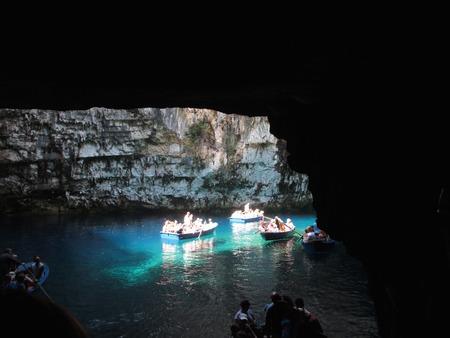 Melissani cave,Kefalonia,Greece