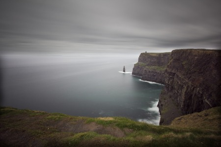 a view of Cliff of Moher,Ireland photo