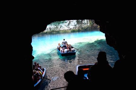 ionio: Melissani cave,Kefalonia,Greece Editorial