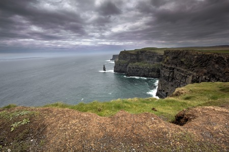 in view of Cliff of MoherIreland photo