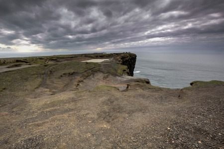 moher: a view of Cliff of Moher,Ireland Stock Photo