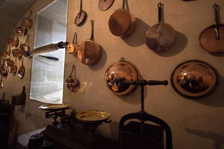 cookware: a view of copper cookware