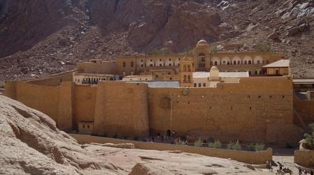 monte sinai: Monasterio de Santa Catalina en el Monte Sina�, Egipto