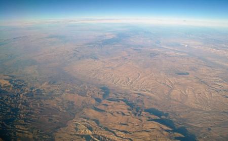 aerial view mountain