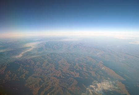 Aerial view mountain , Turkey