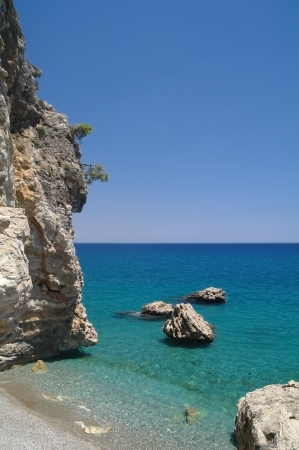 Rock and sea