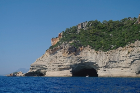 Sea coast,Turkey  Stock Photo