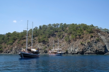 Turkish pleasure yacht photo