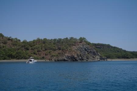 Type at coast of the mediterranean sea, Turkey