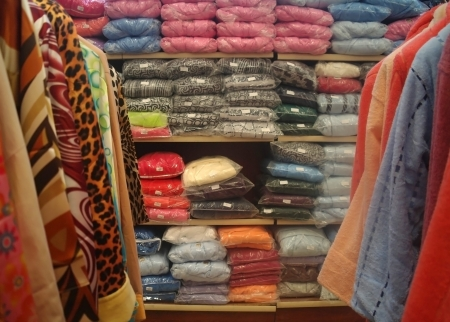 clothes in shop photo