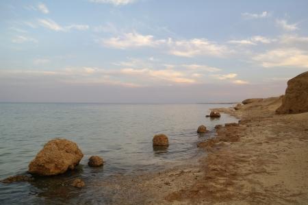 tiran: Een strand kust van de Rode Zee, Egypte