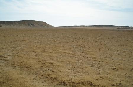 monument valley view: Egyptian Desert