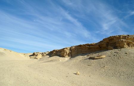 thar: Stone Sandy Egyptian desert.