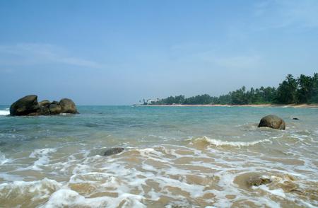 pristine coral reef: Paradiso tropicale litorale idilliaco.