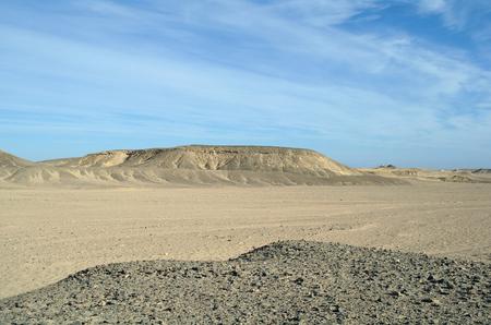 Egyptian desert. photo