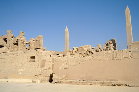 past civilization: Karnak Temple Complex in Luxor