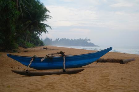 boat on beach photo