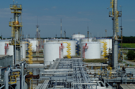 Oil and gas industry ,petrochemical plant