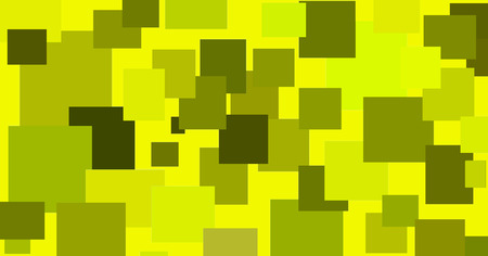 randomly: abstract illustration of randomly located rectangular shapes in different shades of green