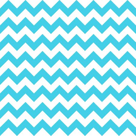 Abstract blue white geometric zigzag texture. Vector illustration.