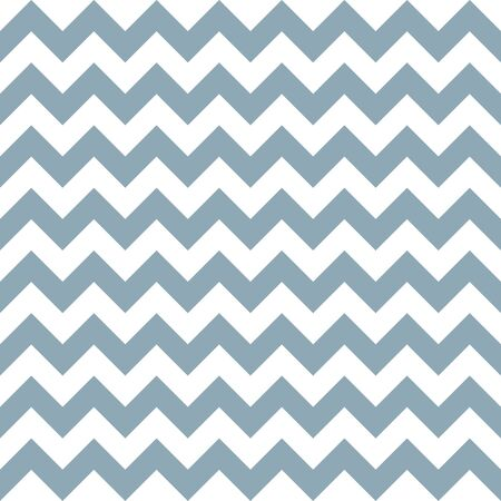 Seamless pattern with blue and white zigzag. Vector illustration.