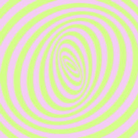Green and pink abstract striped background. Optical art. Vector.