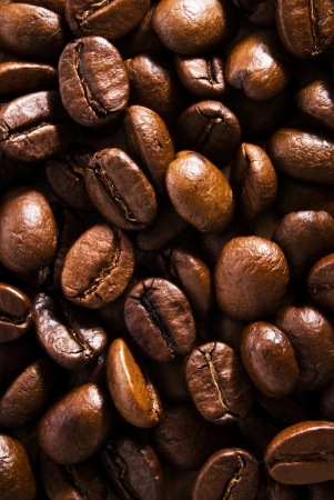 brown coffee, close-up photo