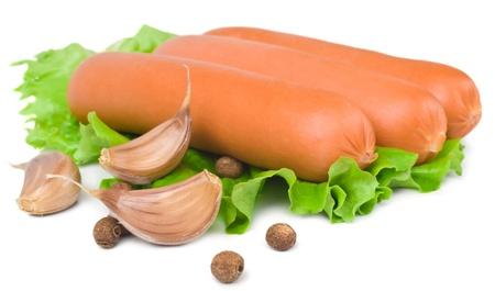 Close up of sausage photo