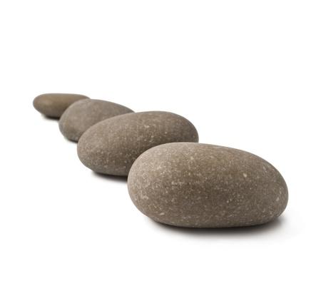 steadiness: zen stones Stock Photo