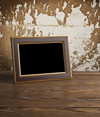 grunge photo frame: background of stained tissue