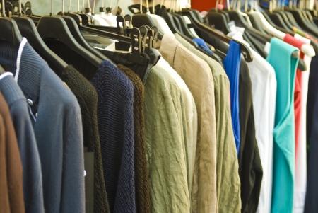 clothes  selective focus Stock Photo - 15618083