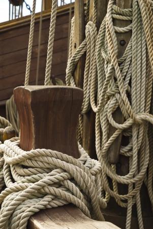 rigging: Rigging of sailing vessel