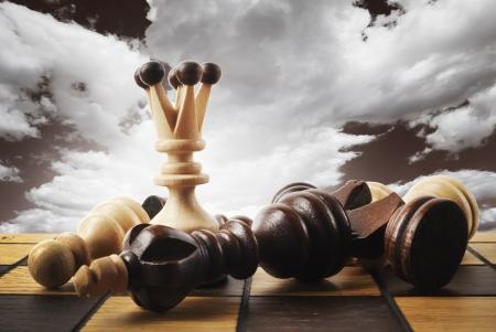 powe: Chess board