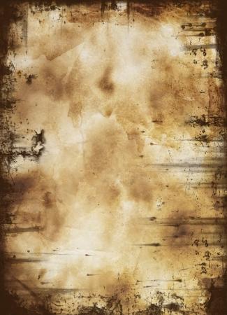 la quemada: papel viejo