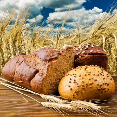 loaf of bread: rye bread