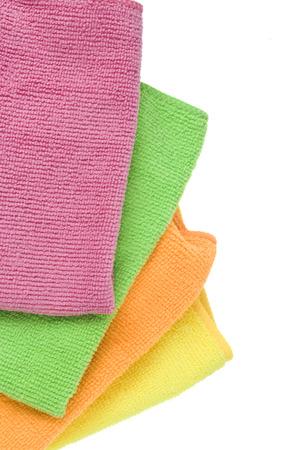 microfibra: De colores brillantes de microfibra textil Foto de archivo