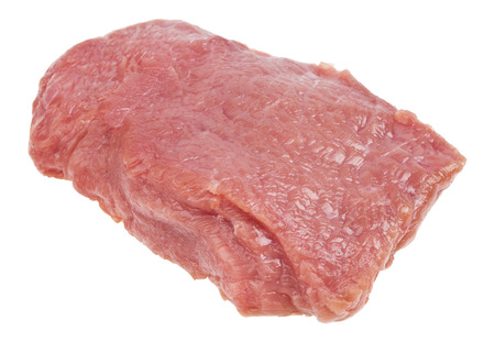 meat on white closeup photo