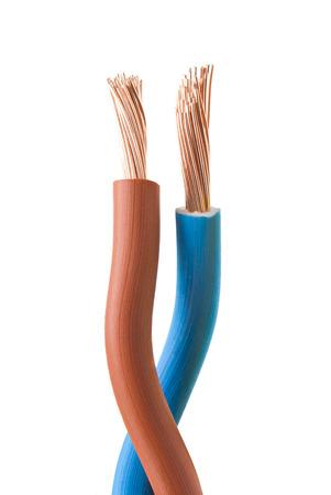 electricity cables Foto de archivo