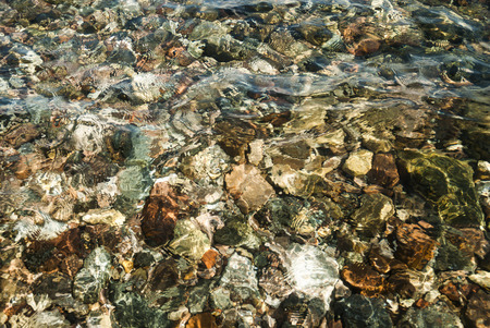 clear waters: texture transparent clear waters of the sea lake