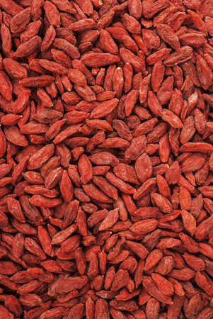 barbarum: dry red goji berries for a healthy diet