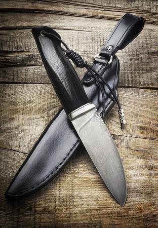 hunting knife Foto de archivo