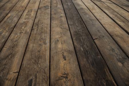 抽象的な背景の木製の床ボード 写真素材