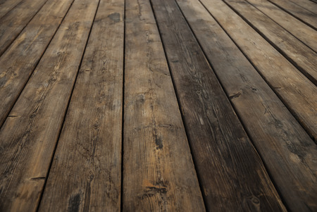 Abstract Background Wooden Floor Boards Stock Photo