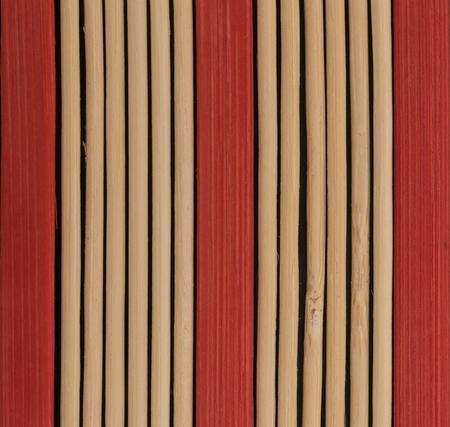 bamboo mat: textured background with bamboo mat Stock Photo