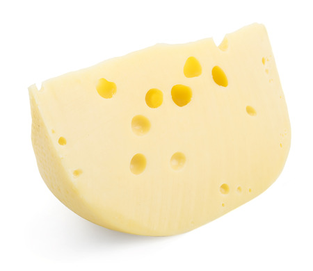 cheez: cheese.piece. isolated Stock Photo