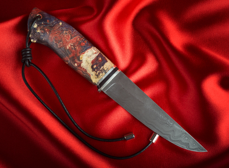 scabbard: hunting knife Stock Photo