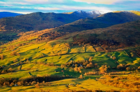 Fells or mountains in the Lake District National Park Stock Photo - 18445969