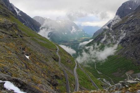 Trollstigen mountain road in Norway Stock Photo - 20423354